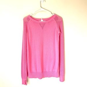 Ivivva Pink Knit Sweater